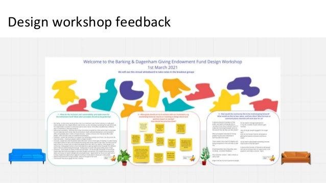 Design workshop feedback