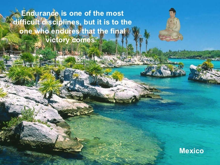 Mexico Endurance is one of the most difficult disciplines, but it is to the one who endures that the final victory comes.