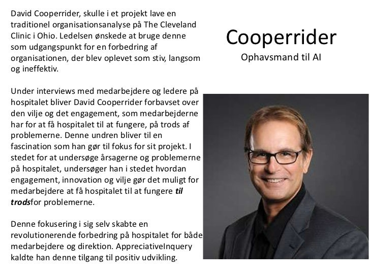 David cooperrider dissertation
