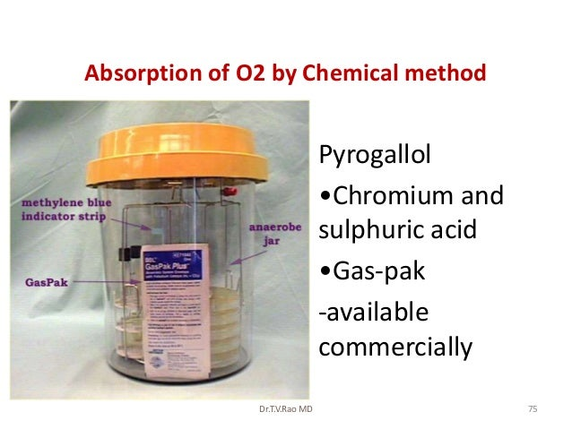 Absorption of O2 by Chemical method                        • Pyrogallol                        • •Chromium and            ...