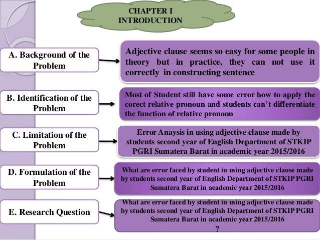 Sample Senior Essay Proposals