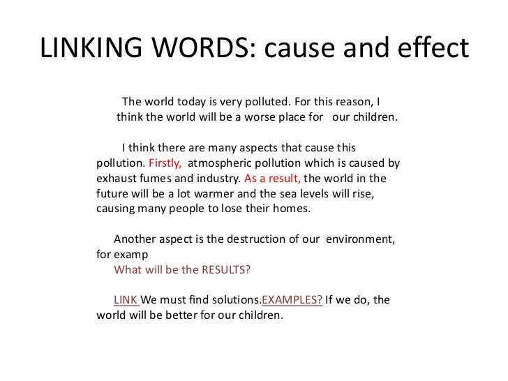 essay about causes and effects of water pollution