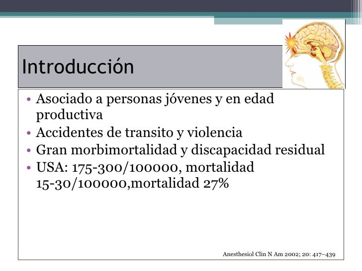 Anestesia En Trauma Encefalocraneano Slide 2