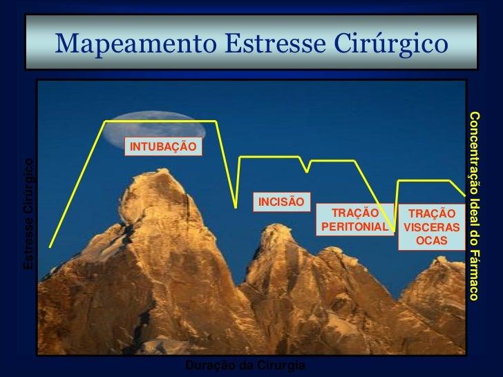 Efeito Analgésico Remifentanil.• Analgésico potente.• Rápido início de ação.• Dose – dependente.• Efeito máximo em doses c...