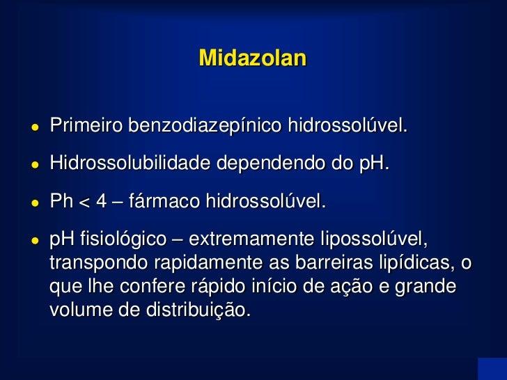 Meia-Vida Contexto-Sensitiva 100                 Midazolam  50                        Propofol                            ...