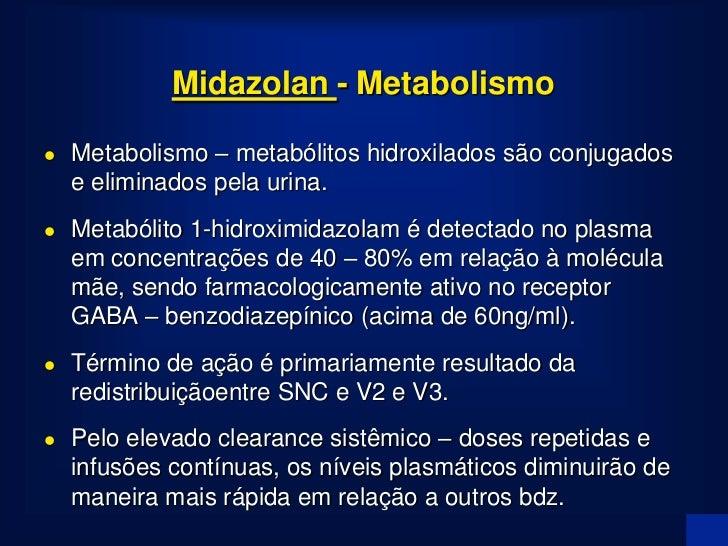 Hipnose com Midazolam                   Concentração alvo 150 ng.ml-1                                        bolus = 0.2 m...