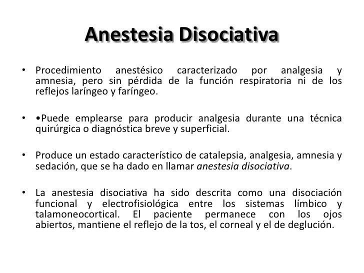 Anestésicos Inhalados