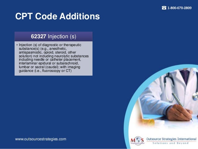 caudal epidural steroid injection with catheter cpt code