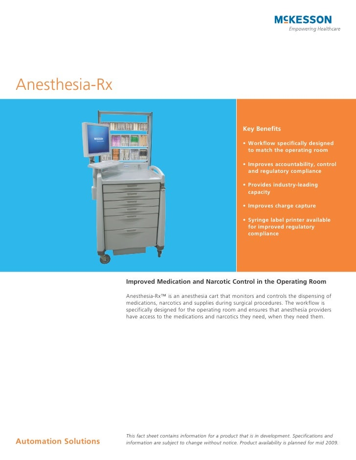 Anesthesia-Rx                                                                             Key Benefits                    ...