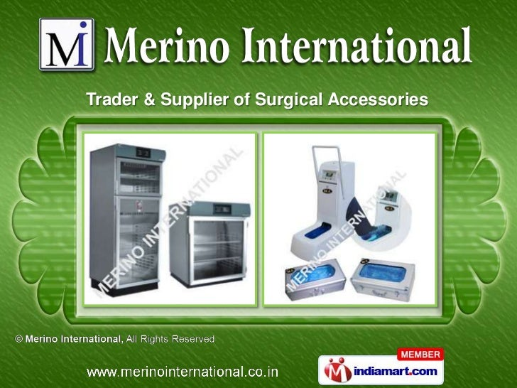 Trader & Supplier of Surgical Accessories