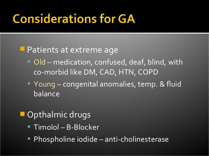    Normally 10-20 mmHg   Must be controlled when operating within the globe   IOP impaired op. conditions       expul...