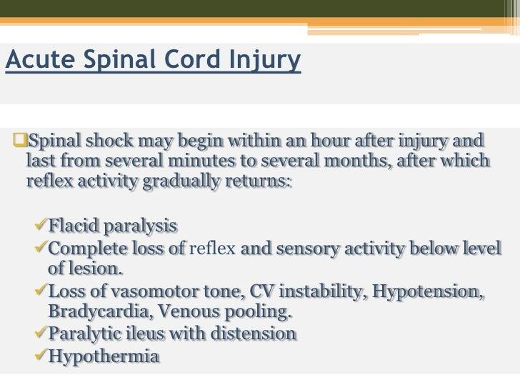 pathophysiology of spinal cord injury pdf