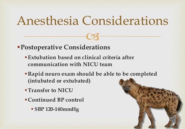 Anesthesia On Safari