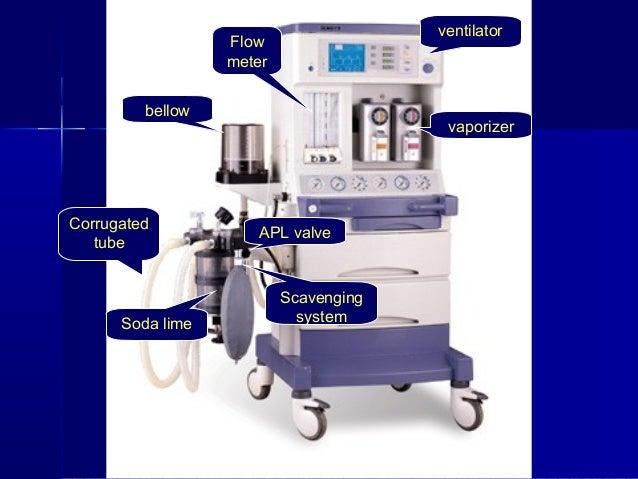 anesthetic machine