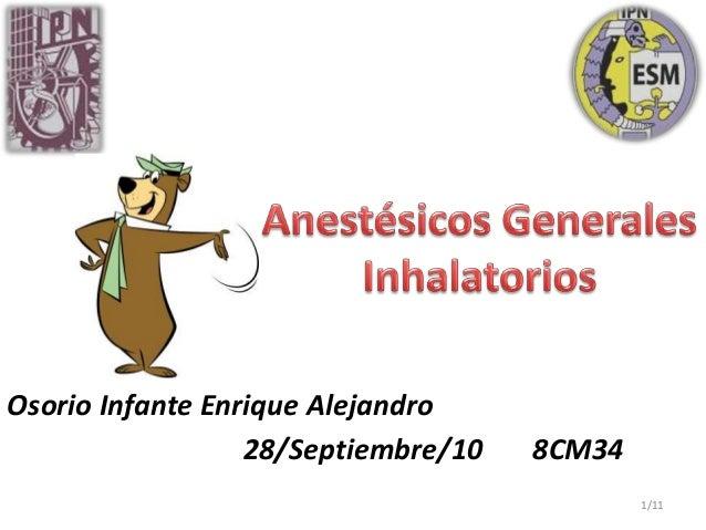 Osorio Infante Enrique Alejandro 28/Septiembre/10 8CM34 1/11