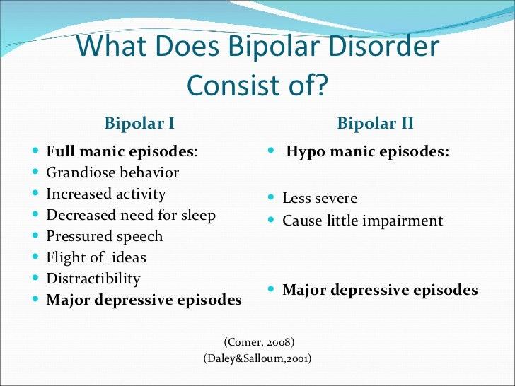 An Evaluation Of Bipolar Disorder