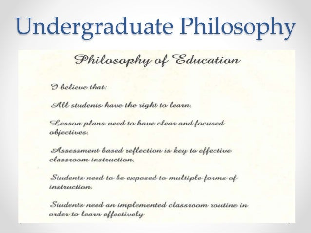 my educational philosophy Education philosophy statement sheldon berman the goal of my education  career has been to work for positive changes in curriculum, instruction and.