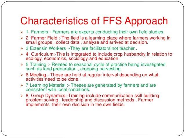6. Basic Elements of FFS