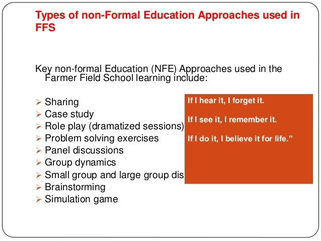 8. Concepts of Farmer Field Schools