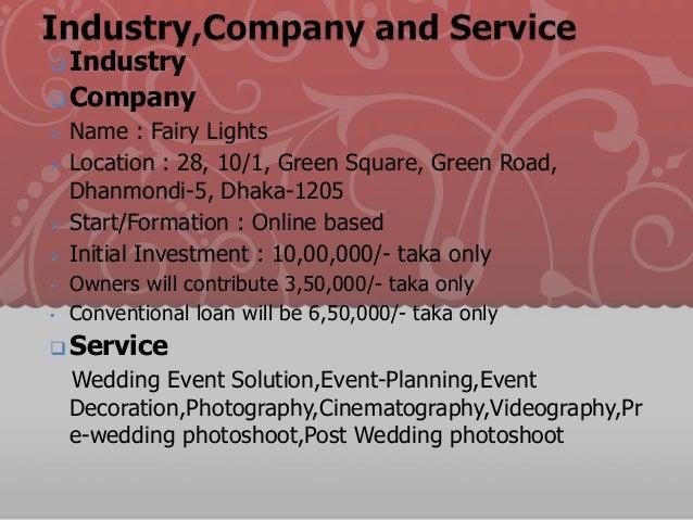 Business Plan For Event Management Company 100 Original