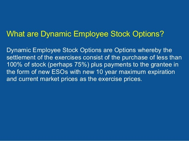 Stock options new hire