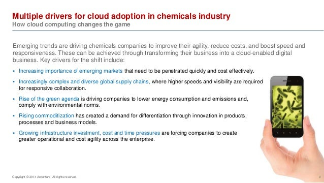 A new era for the chemicals industry: Cloud computing changes the game Slide 3