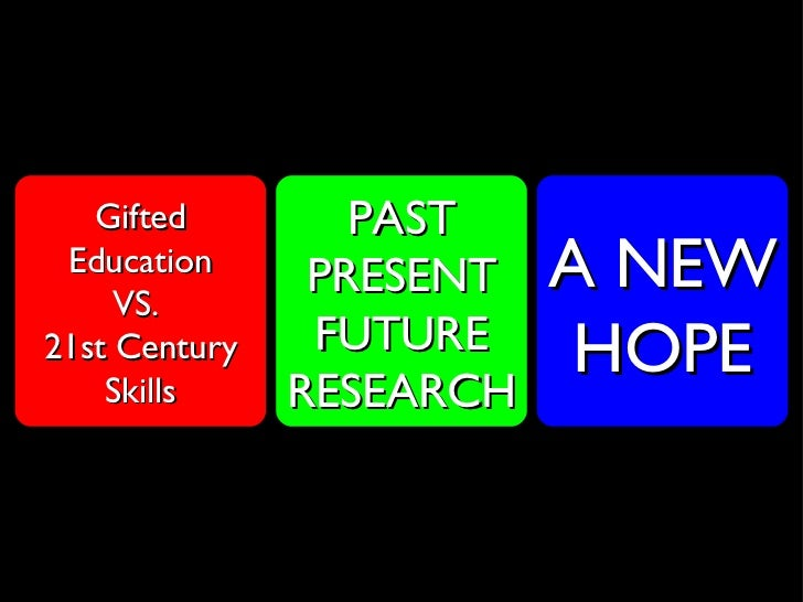 dissertation gifted education Giftedness, creativity and talent development all dissertation research must be directed by a member of the core faculty as the major advisor preparat.