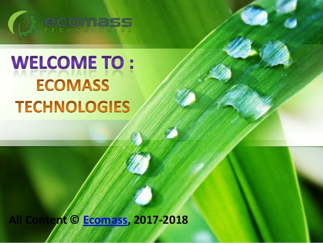 All Content © Ecomass, 2017-2018