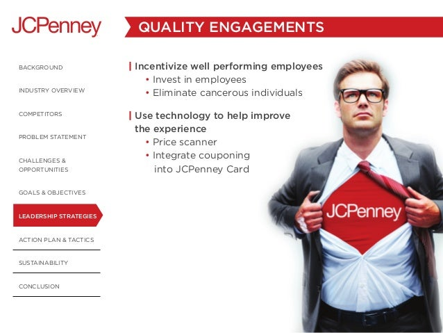 JC Penney Business Leadership Plan