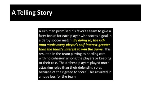 A Telling Story A rich man promised his favorite team to give a fatty bonus for each player who scores a goal in a derby s...