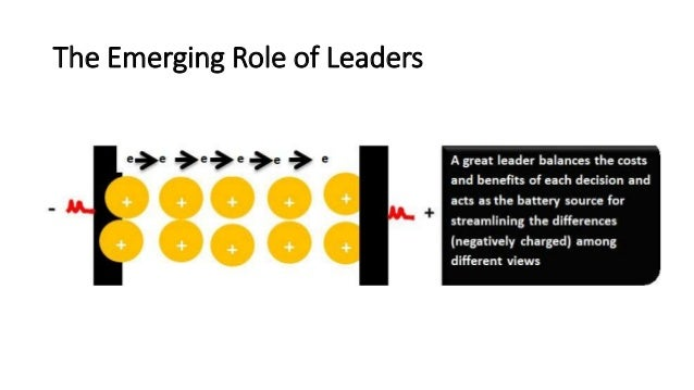 The Emerging Role of Leaders