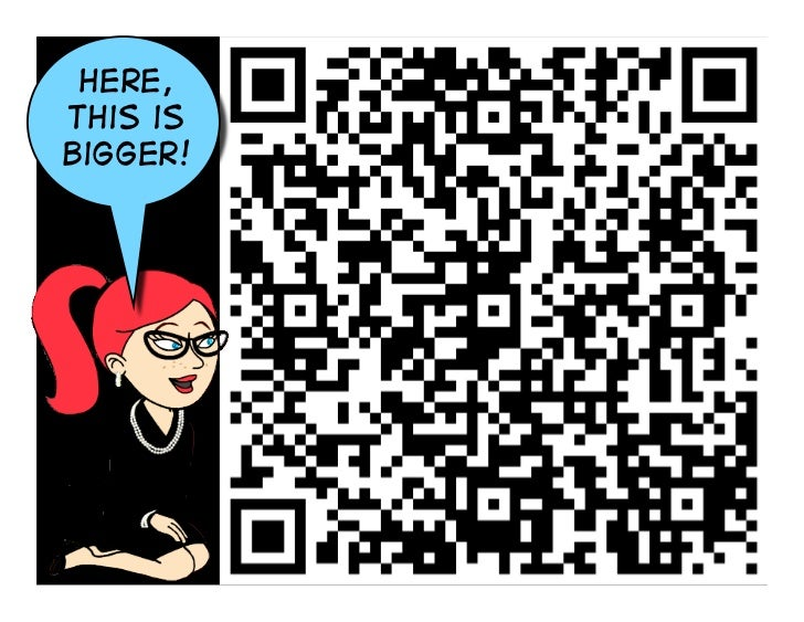 QR Codes in the Classroom & Library, Too! UPDATED! Slide 3