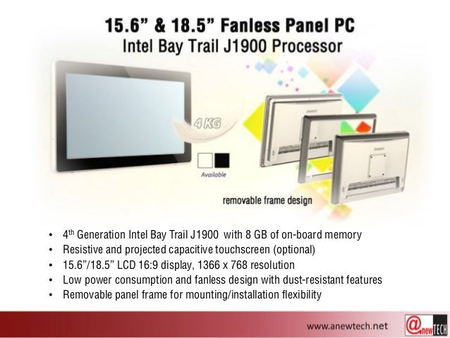 High Performance Industrial Touch Panel PC