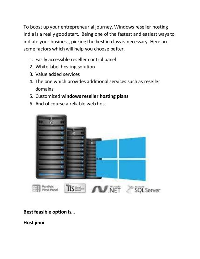 A new way to start entrepreneurial expedition  windows reseller web hosting Slide 2
