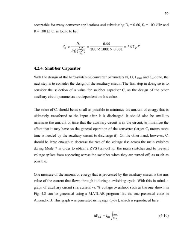 buck boost converter design thesis Control techniques for dc-dc buck converter with improved performance a thesis submitted in partial fulfillment of the requirments for the degree of.