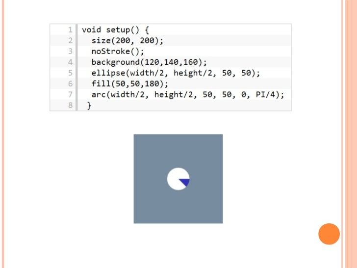 An example graph visualization with Processing js