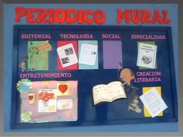 Anexo 2 el peri dico mural for Como elaborar un periodico mural escolar