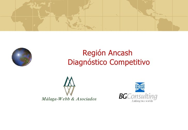 Región Ancash  Diagnóstico Competitivo