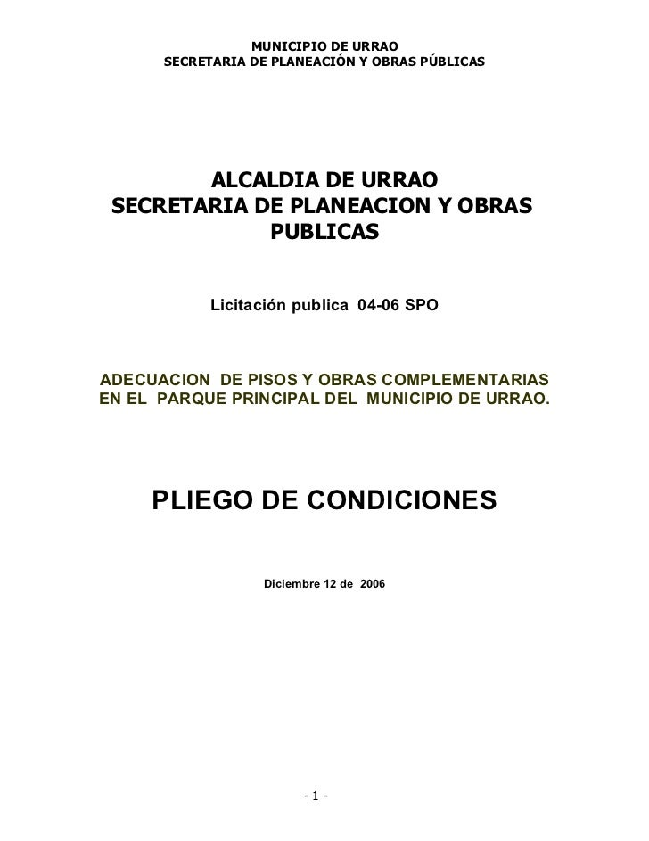 licitación.+pisos+bancas+plaza+uribe+urrao