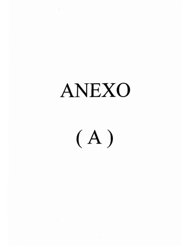 ANEXO (A)