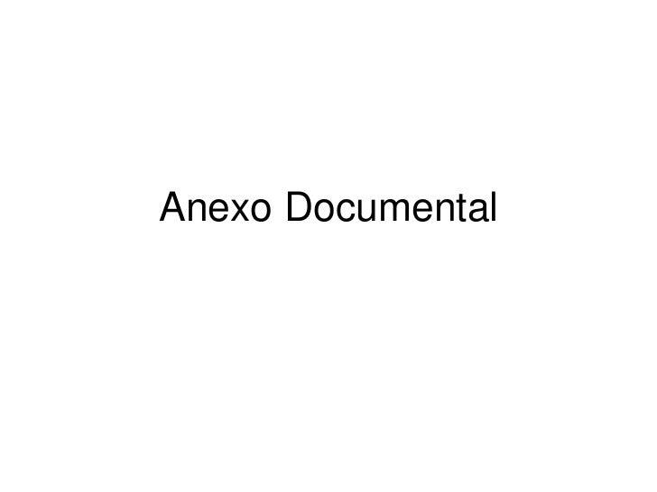 Anexo Documental