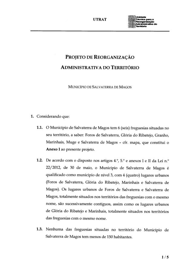 NMA - UTART Município de Salvaterra