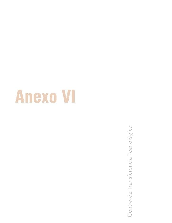 Anexo VI Centro de Transferencia Tecnológica