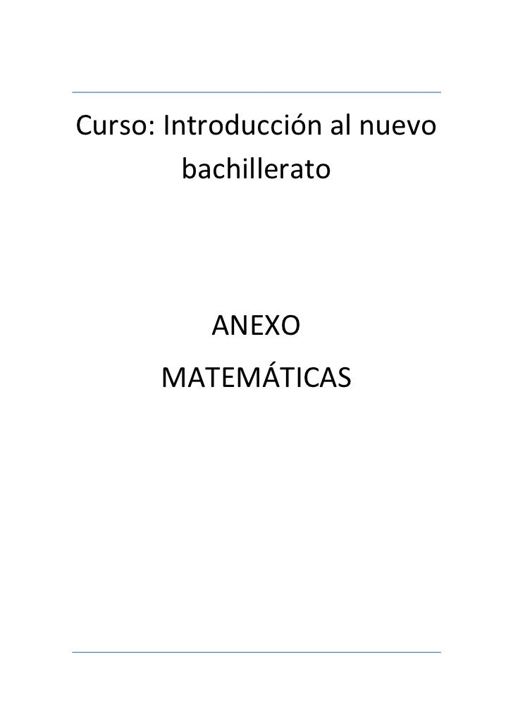 ANEXOS MATEMATICOS
