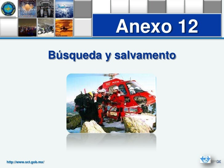 Anexo 1212                                 Anexo                         Búsqueda y salvamentohttp://www.sct.gob.mx/