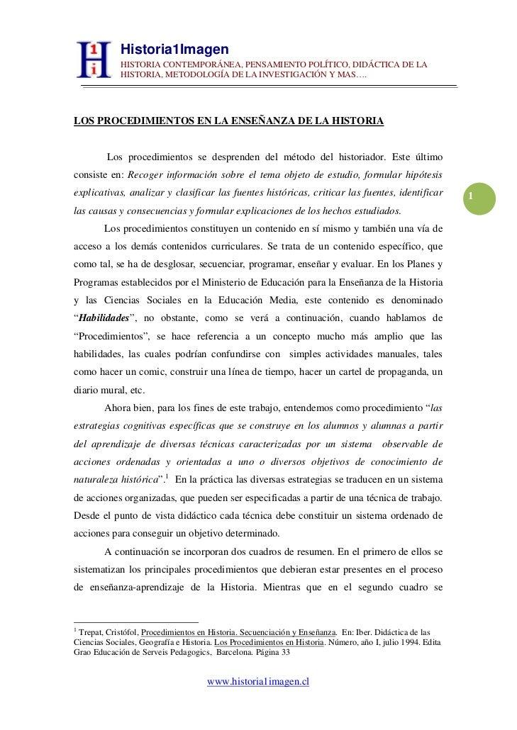 Historia1Imagen             HISTORIA CONTEMPORÁNEA, PENSAMIENTO POLÍTICO, DIDÁCTICA DE LA             HISTORIA, METODOLOGÍ...