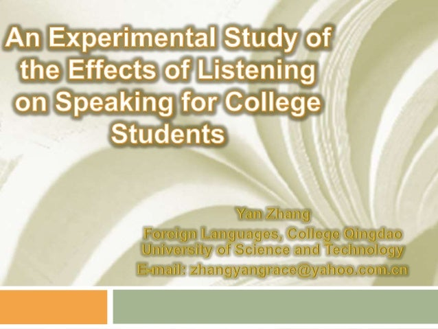 an analysis of the effects of college on the lives of students 2014-1-6  parental involvement's effects on academic performance: evidence from the youthsave ghana experiment c e n t e r f o r s o c i al d e v e l o p m e n t.