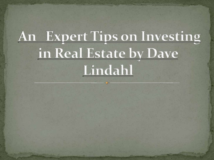  Real estate investment will attract lot of people. The  prospects are increasing day after day, at the same time  it nee...