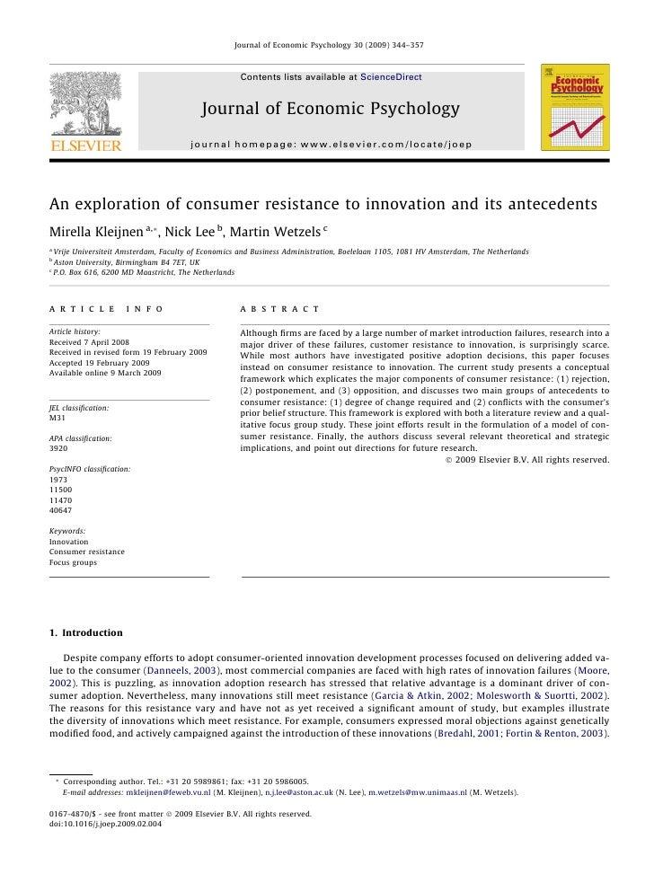 Journal of Economic Psychology 30 (2009) 344–357                                                           Contents lists ...
