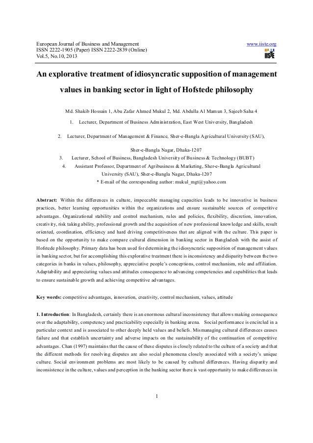 European Journal of Business and Management www.iiste.orgISSN 2222-1905 (Paper) ISSN 2222-2839 (Online)Vol.5, No.10, 20131...